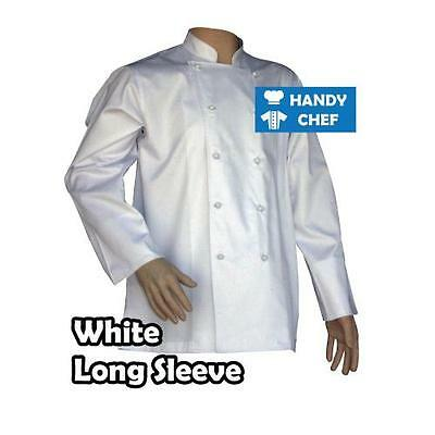 Quality Chef Jacket-Black or White-Brand New See Handychef store for Pants,Apron 4