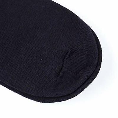 New 6 Pairs Mens Black Classic Dress Socks Cotton Casual Fashion Crew Solid Sox 3