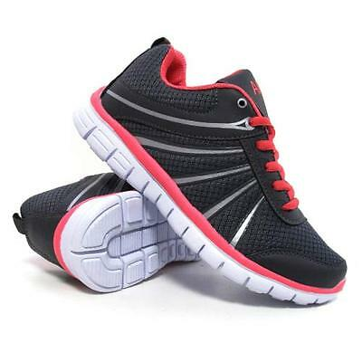 Ladies Running Trainers Womens Air Shock Absorbing Fitness Gym Sports Shoes Size 6