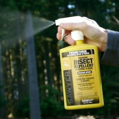 Sawyer SP657 - Permethrin Premium Insect Repellent For Gear & Clothing 739ml 2