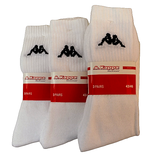 12 Paar Kappa® Socken Sportsocken Tennissocken Freizeitsocken Arbeitssocken 2