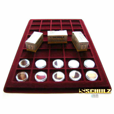 (ProSchulz) Coin Capsules ALL INTERNAL SIZES 14 mm to 42mm  x 10, 30, 50, 100pcs 5