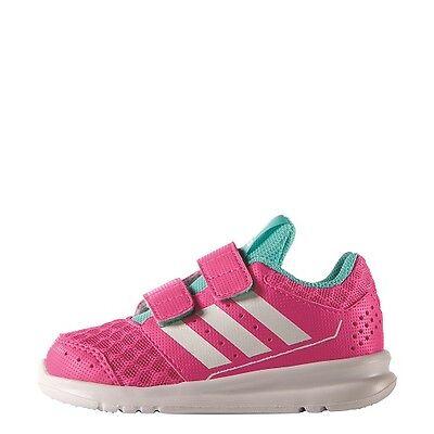 Adidas Ik sport 2 cf i Größe 20 Turnschuhe Schuhe Kinder Gymnastik Pink weiß