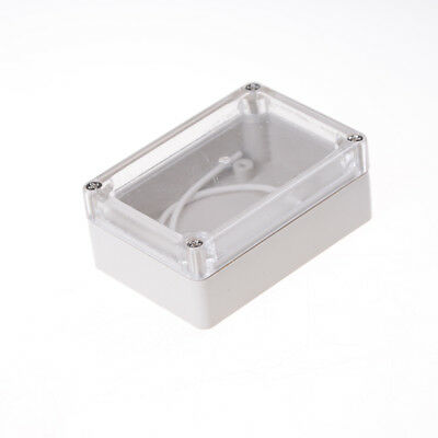 85x58x33 Waterproof Clear Cover Electronic Cable Project Box Enclosure Case Z0HW 2