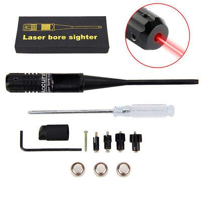 Mündungslaser Laserpatrone Einschießhilfe Schussprüfer rot .22 .50 Bore Sighter