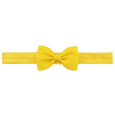20X Baby Girls Bow Headband Hairband Soft Elastic Band Hair Accessories Pop. 6