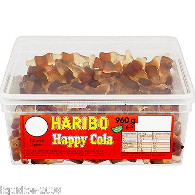 1 X Full Tub Haribo Sweets Candy Children's School Bags Treat Sweet Gift Party 10