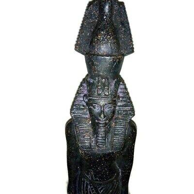 Rare Ancient Egyptian Pharaoh King Ramsis II Statue Great Stone Black 1279 BC 3
