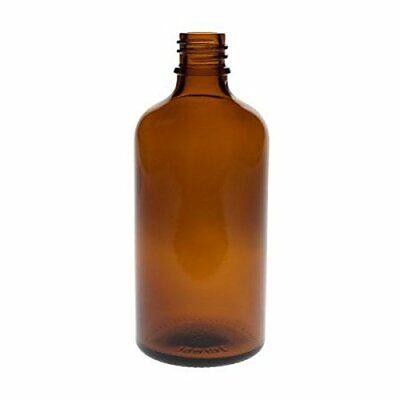 mikken 4 x Sprühflasche 100 ml Braun Apothekerflaschen mit Zerstäuber BPA-frei 6