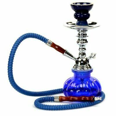 Hookah 1 Hose Smoking Nargila Glass Water Pipe Complete Personal Narghila Set 3