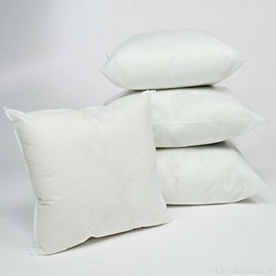 Cushion Inners Inserts Pads Scatters Fillers Hollowfibre & Duck Feather in Packs 2