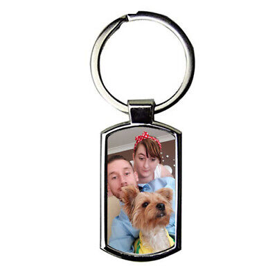 Photo Keyring Personalised With Picture Keychain Comes With Gift box 2