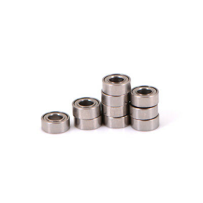 10pcs Mini Bearing steel bearing Rolling Ball Bearings MR63ZZ 3*6*2.5mm、2018 3