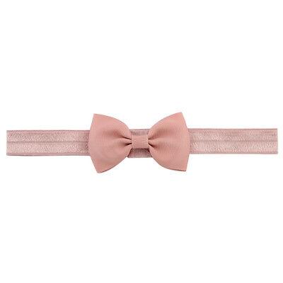 20X Baby Girls Bow Headband Hairband Soft Elastic Band Hair Accessories Pop. 10