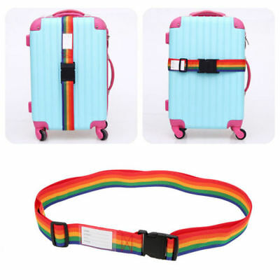 4x Travel Luggage Suitcase Bag Packing Secure Safe Strap Belt Lock 183cm NEW 5