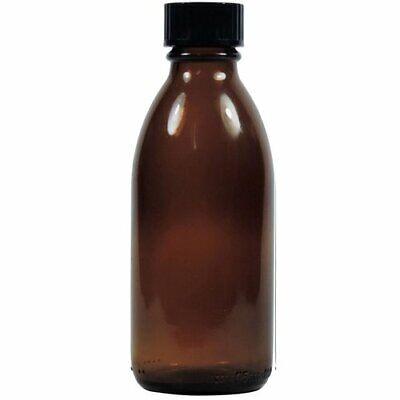 mikken 5 x Apothekerflasche braun 100 ml Glasflasche Laborflasche leer bpa-frei 2