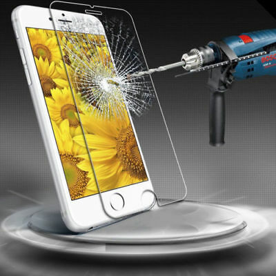 Hq Premium Real Tempered Glass Screen Protector For Iphone Se 5S 5C 5 Case Clear 3