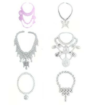 30 Items For Barbie Doll Dresses, Shoes,Jewellery Clothes Set Accessories Uk 3