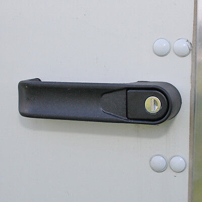 Genuine Ifor Williams Enclosed Box Trailer Door Locking Handle & 2 Keys - P10580
