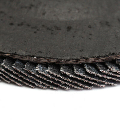 Angle Grinder Flap Sanding Disc 5'' 125mm 40-120 Grit Grinding Wheels 10/40Pcs 10