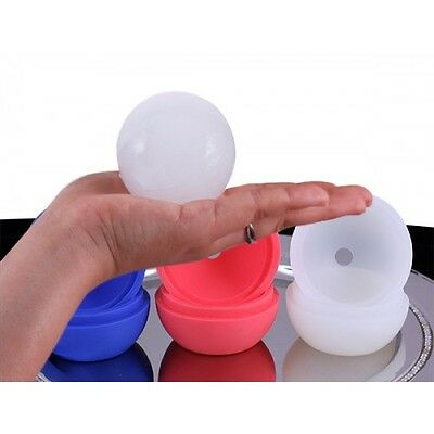 4-Ball Whiskey Ice Cube Maker Mold Sphere Mould Party Round Bar Ice Shot Glasses 4