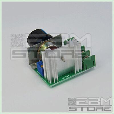 Driver AC 2000W 220V - Dimmer regolatore di velocità giri - ART. CO11 3
