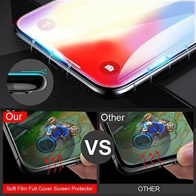 For iPhone 11 Pro Max XR X XS Max 8 7 Plus Tempered Glass Clear Screen Protector 3