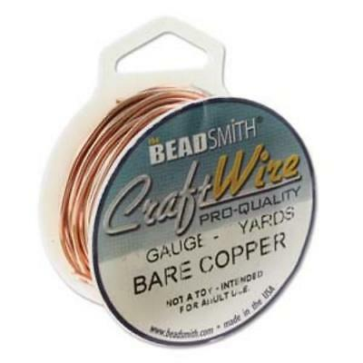 Beadsmith Jewellery Craft Wire Non Tarnish Choose Silver, Gold, Rose, Copper etc 6