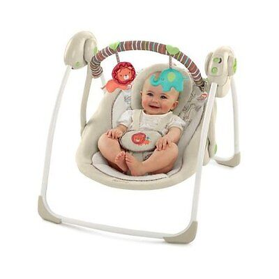 Terrific Baby Swing Portable Infant Cradle Rocker Seat Toddler Squirreltailoven Fun Painted Chair Ideas Images Squirreltailovenorg