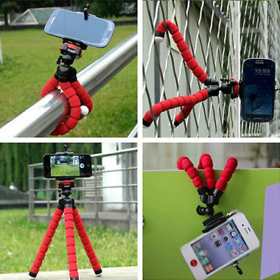 Universal Mini Mobile Phone Tripod Stand Grip Holder Mount For Camera cell phone 9