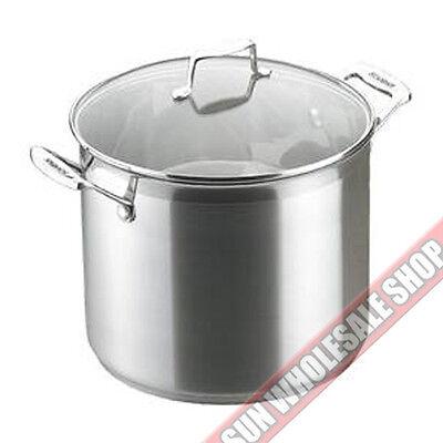 RRP $169.00! SCANPAN Impact Stainless Steel 28cm 3.2L Saute Pan 100/% Genuine