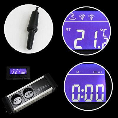 Thermostat Thermo Zeitschaltuhr Alarm Aquarium/terrarium *externes Display* Txb 4