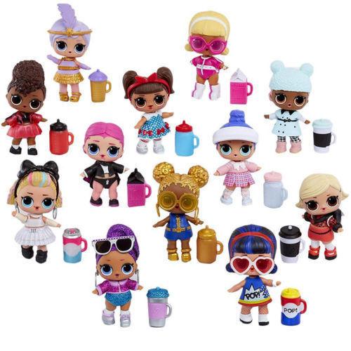 1-10 Stück LOL Surprise Eye Spy Series 15 Under Wraps Capsule Big Sister Dolls