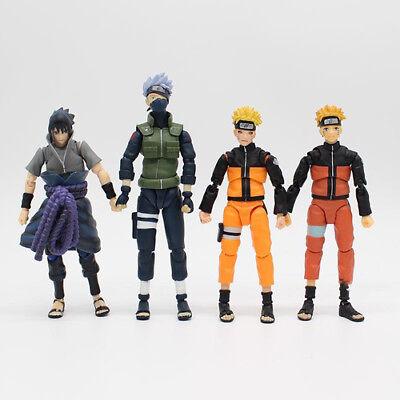 SHFiguarts Naruto Shippuden Uzumaki Naruto Sasuke Hatake Kakashi Action Figure 2