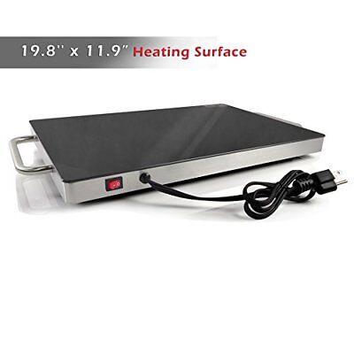 NutriChef Plug-In Food Warming Tray PKWTR45 5
