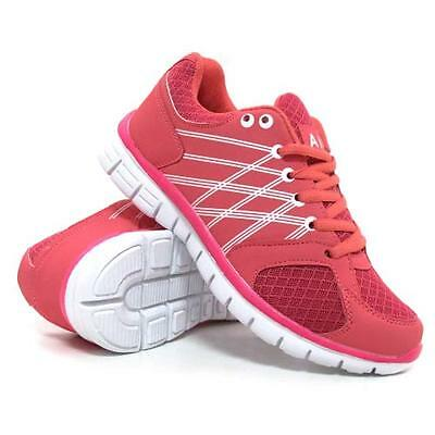 Ladies Running Trainers Womens Air Shock Absorbing Fitness Gym Sports Shoes Size 5