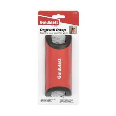 Goldblatt Drywall Rasp Stainless Steel Blade Rubber Handle Cuts Trim Smooth Edge 4