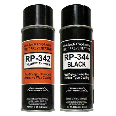 "12-Cans - COSMOLINE MILITARY-GRADE ""Heavy"" Spray Type Rust Preventive RP-342 4"