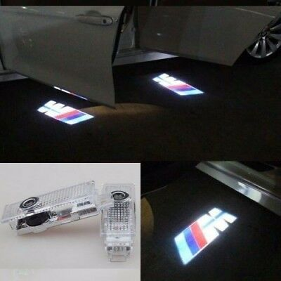 For BMW CREE LED Projector Car Door Light Shadow Puddle Courtesy Laser LOGO Lamp 8