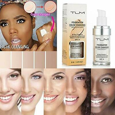 Magic Flawless Color Changing Foundation TLM Makeup Change Skin Tone Concealer 5