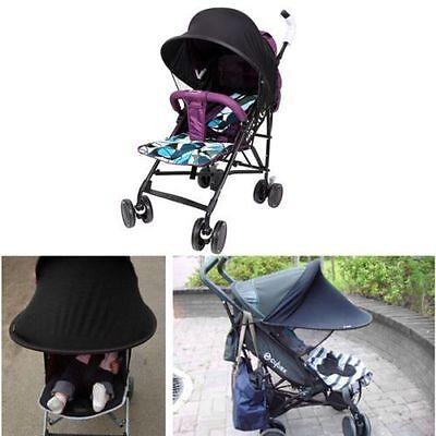 Baby/Child Pushchair Stroller Pram Buggy Sun Shade Canopy Cover Universal Black 3