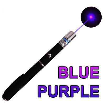 3PCS Green + Blue Violet + Red Light Beam Powerful 5MW Laser Pointer Pen
