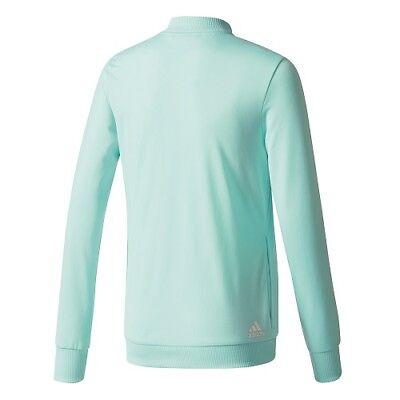 ADIDAS Linear Polyester Kinder Sport- Training- Jogging Anzug Mädchen CF1247 /K1 4