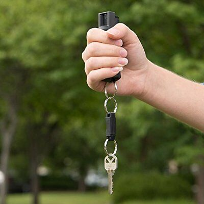 Sabre Mace Pepper Spray Dye Keychain Dog Bear Repellent Self Defense Protection