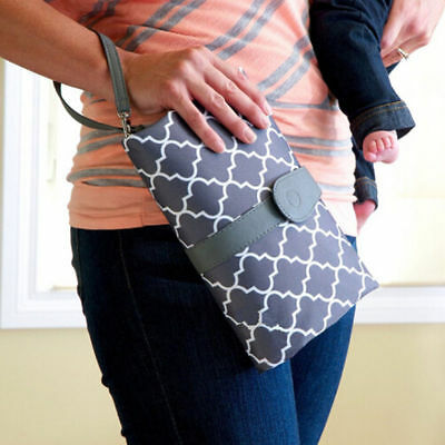 Baby Nappy Diaper Bag Changing Change Clutch Mat Foldable Pad Handbag Wallet