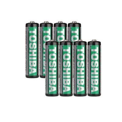 GENUINE TOSHIBA Zinc Carbon AA AAA Battery Super Long Lift Batteries 4