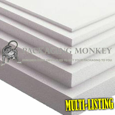 Expanded Polystyrene Foam Packing Sheets *All Sizes* 2