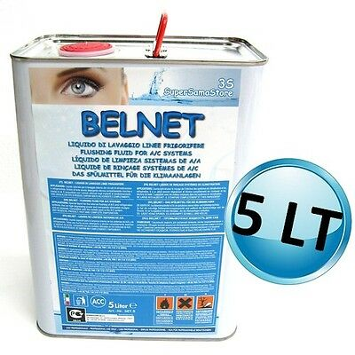 3S Detergente Liquido Belnet Flacone 5 Lt Per Lavaggio Impianto Climatizzazione 2