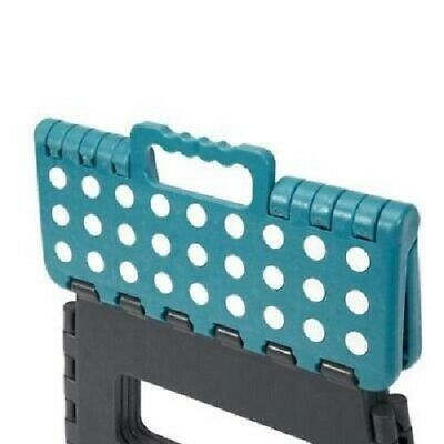 Plastic Multi Purpose Folding Step Stool Foldable Seat Home Kitchen Easy Storage 2