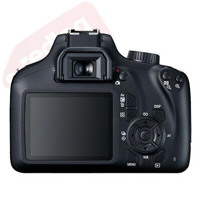 Canon EOS 4000D / Rebel T100 SLR Camera + 3 Lens Kit 18-55mm+ 16GB+ Flash & More 3